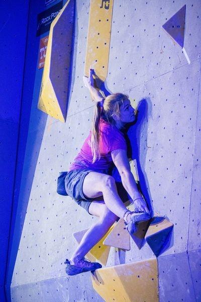 Do Jeseníku se sjede špička českého lezeckého sportu zdroj foto: Horolezci Jeseník - Monika Brkalová