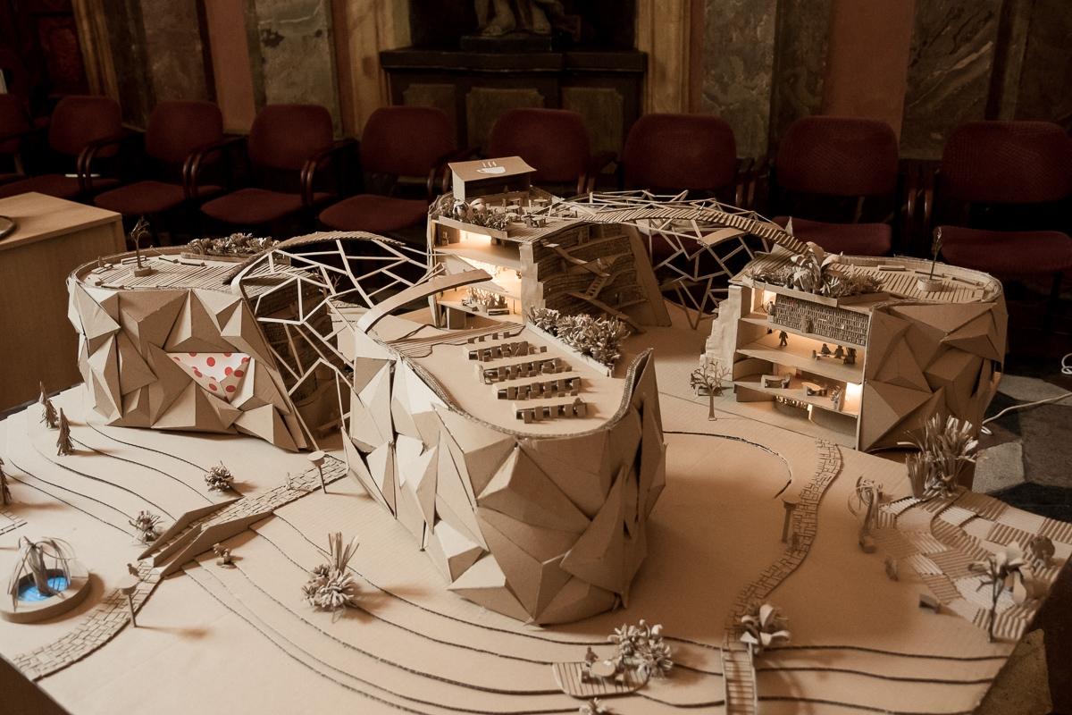 ilustrační snímek - Stavby z vlnité lepenky zdroj foto: A. Čeřovská