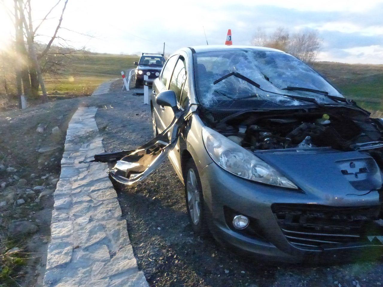 Jesenicko - havárie u Bílé Vody zdroj foto: PČR