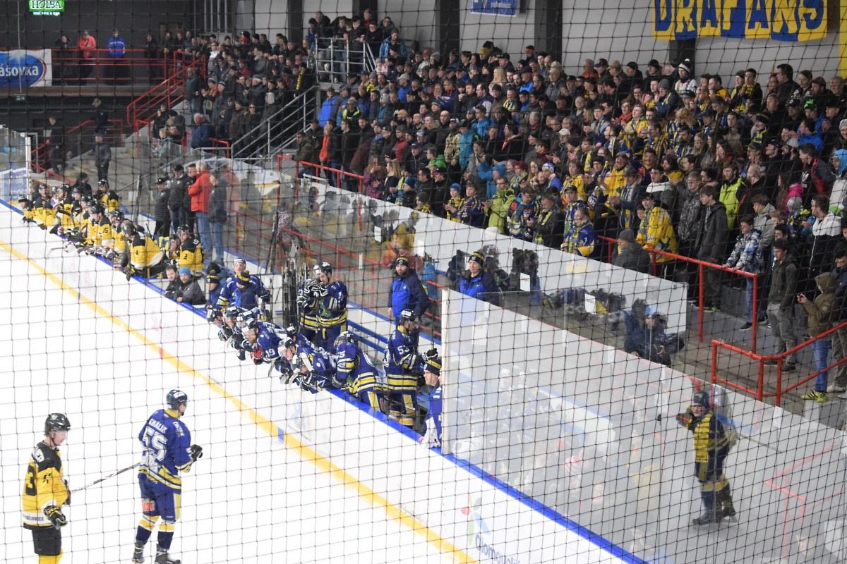 Draci Šumperk vs M. Budějovice zdroj foto: Draci - V. Václavková