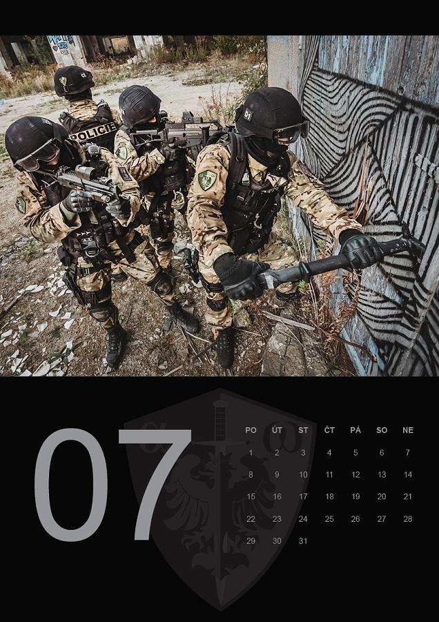 kalendář zásahové skupiny ZONA - červenec 2019 foto: Vít Kocián