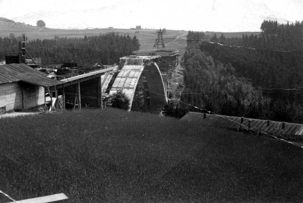 Zahájení stavby dálnice dne 2. 5. 1939. zdroj foto: MS