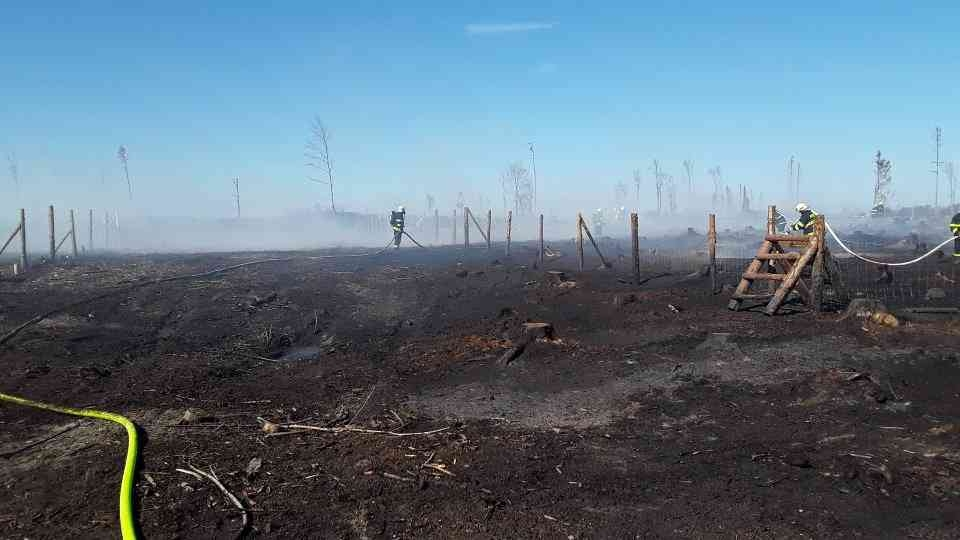 lesní požáry v kraji zdroj foto: HZS OLK