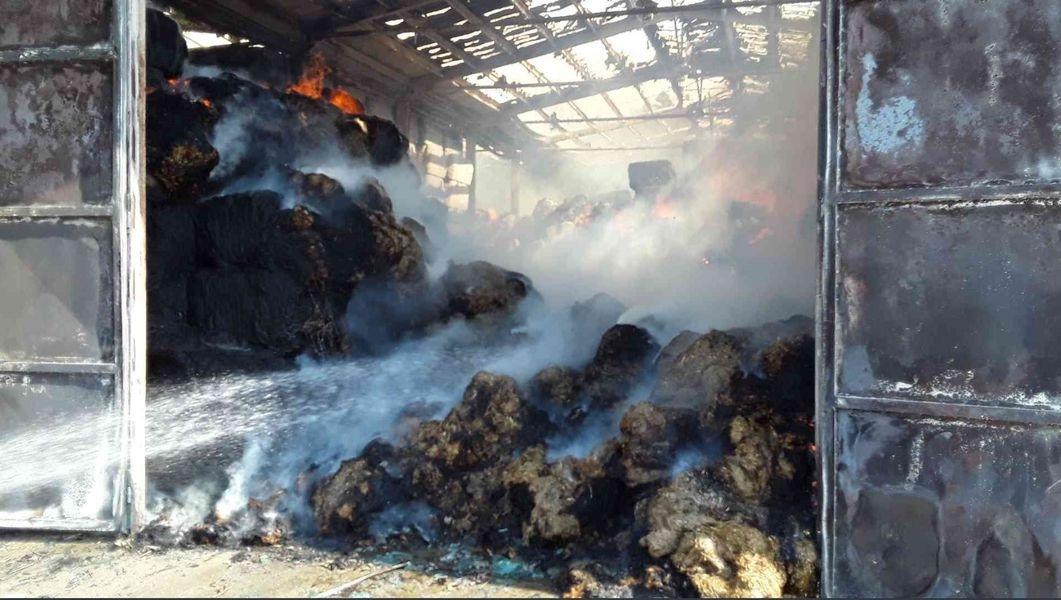 Olšany - náročný zásah hasičů zdroj foto: HZS OLK
