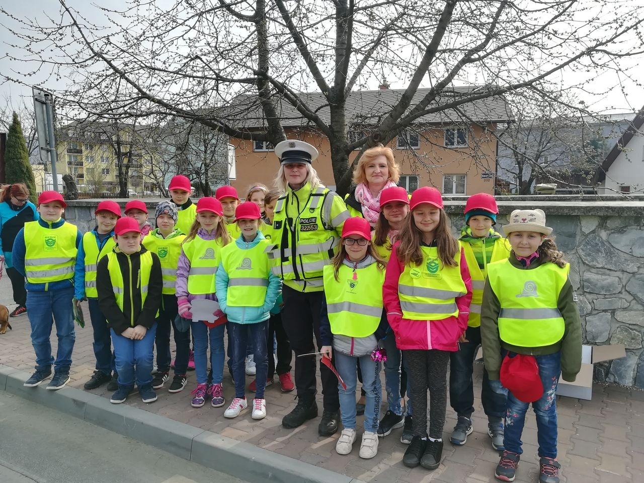 Šumpersko - dopravně preventivní akce zdroj foto: PČR