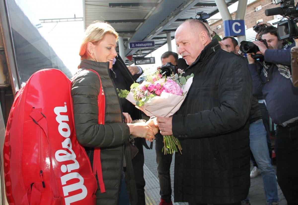 Český fedcupový tým je na Hané zdroj foto: OLK