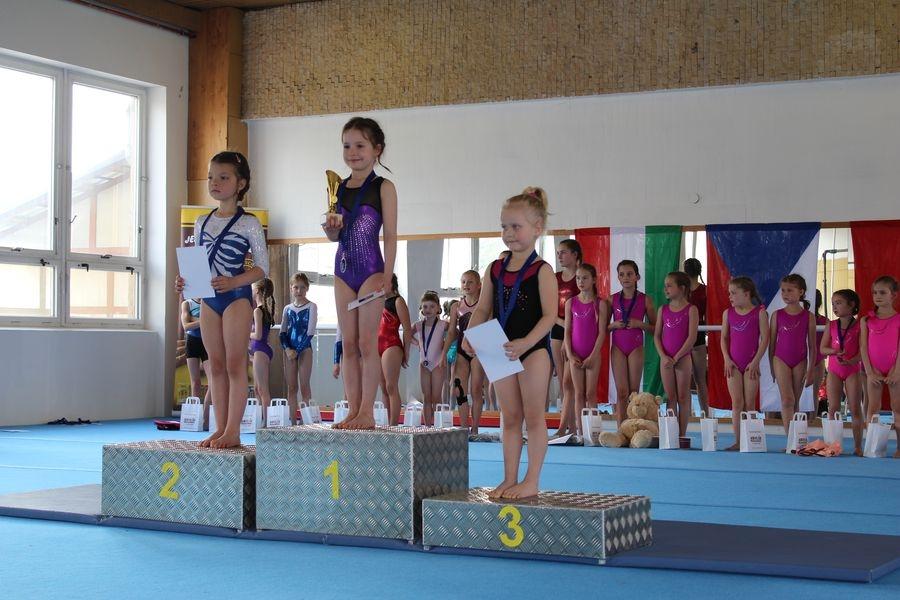 Gymnastky TJ Šumperk startovaly v Bruntále zdroj foto: oddíl