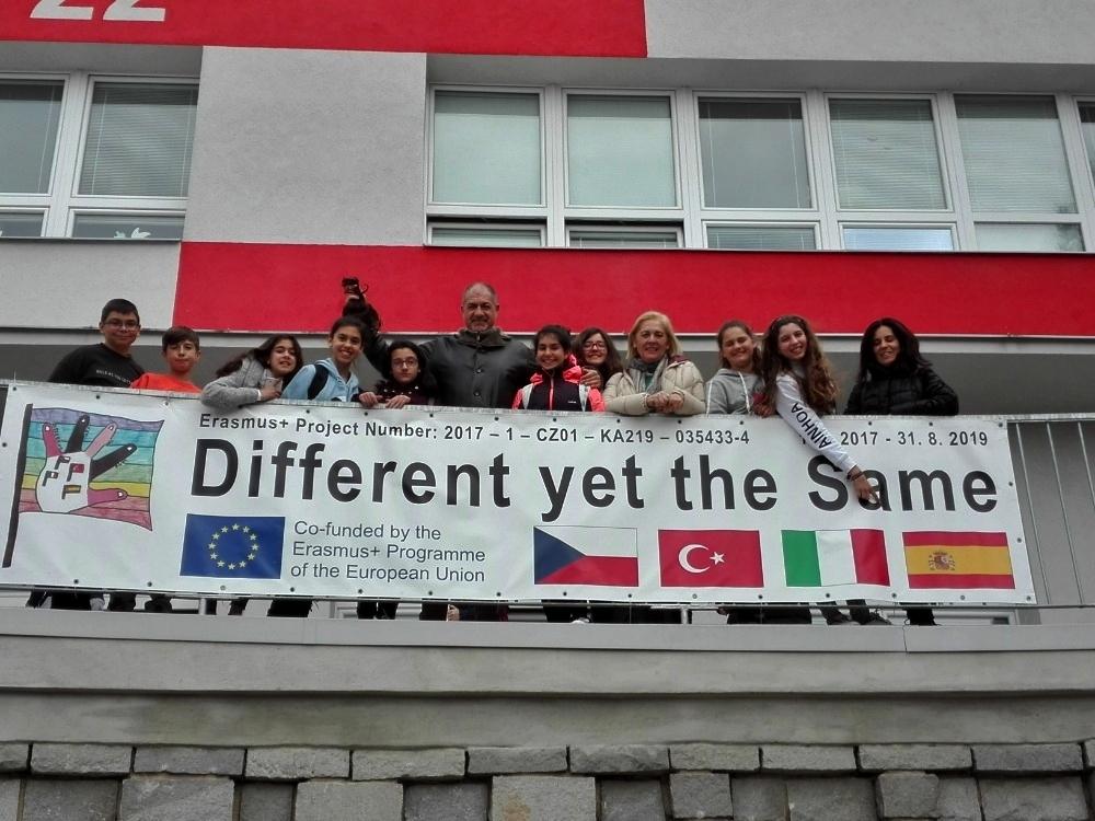 Na šumperské Pětce přivítali děti z partnerských škol zdroj foto: škola
