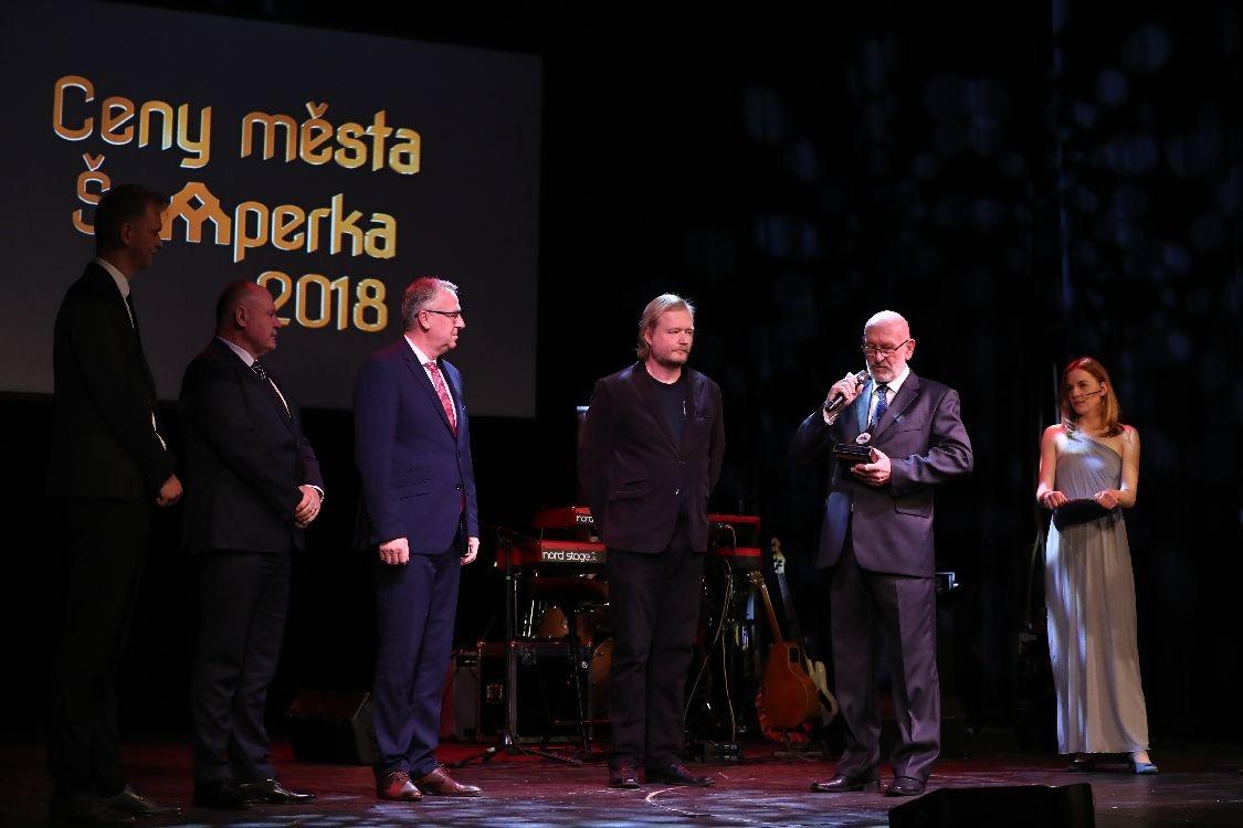 Slavnostní večer s předáváním Cen města Šumperka 2018 foto: sumpersko.net - M. Jeřábek