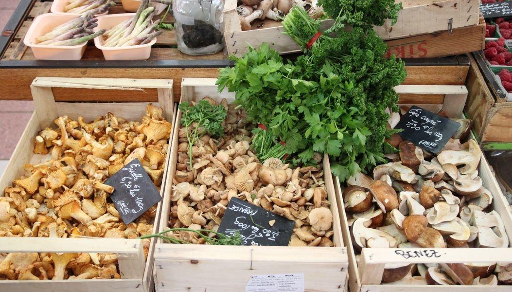nabídka potravin ve Francii zdroj foto: archiv