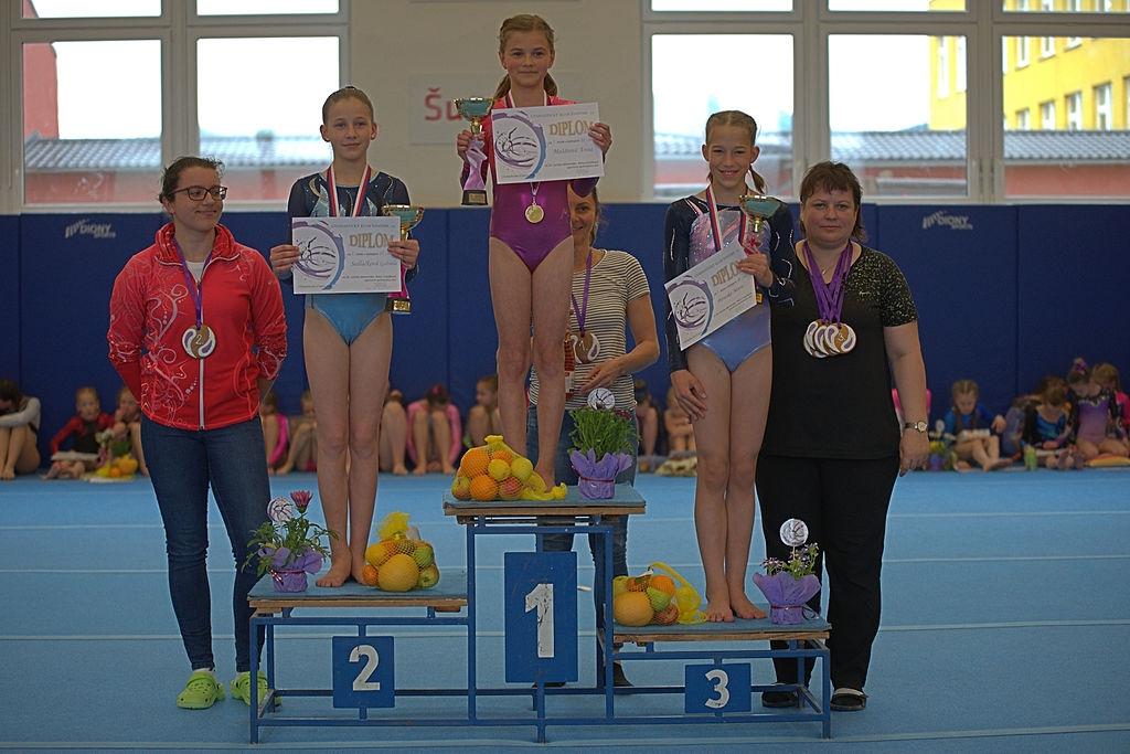 kategorie 2008 - 3. místo Paraska Marie zdroj foto: GK Šumperk