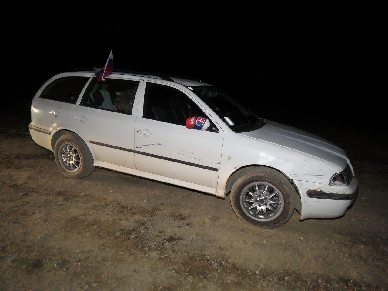 nehoda na Mohelnických lomech zdroj foto: PČR