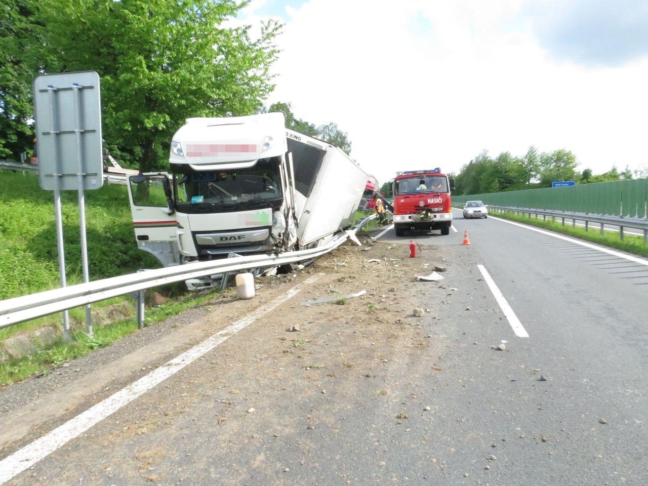 dopravní nehoda v Mohelnici zdroj foto: PČR