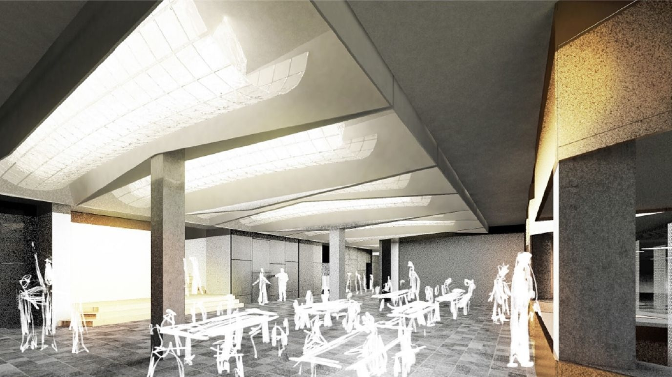 Dk foyer - vizualizace zdroj:mus