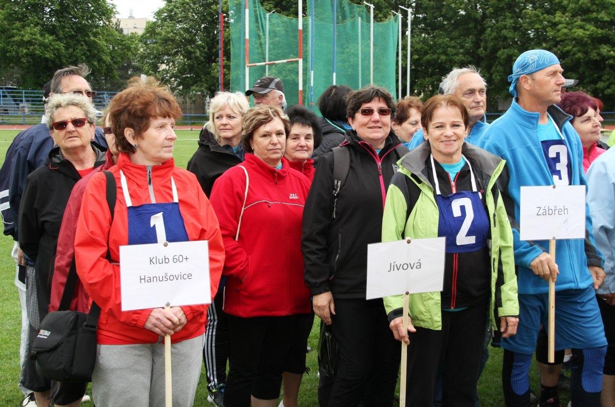Sportovní hry seniorů zdroj foto: OLK