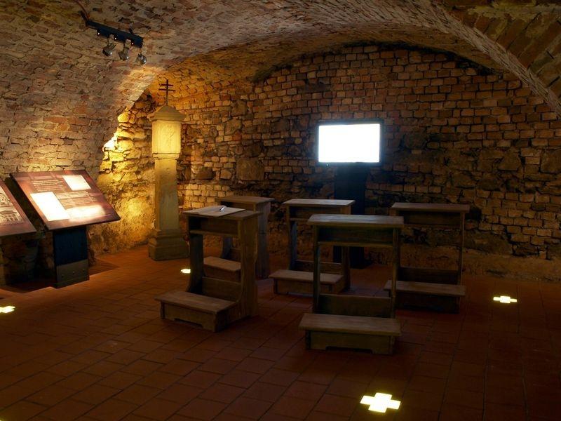 expozice Čarodějnické procesy v Geschaderově domě zdroj foto: mus