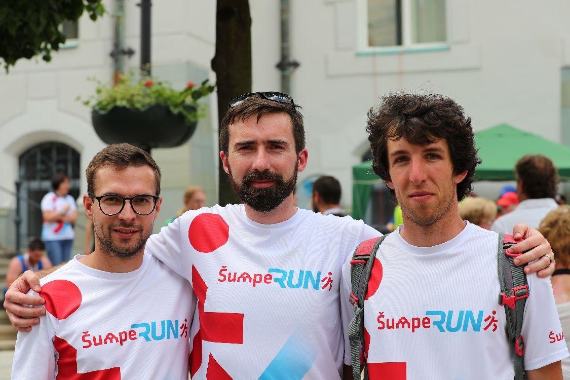 ŠumpeRUN 2019 - hlavní organizátoři foto: šumpersko.net - M. Jeřábek