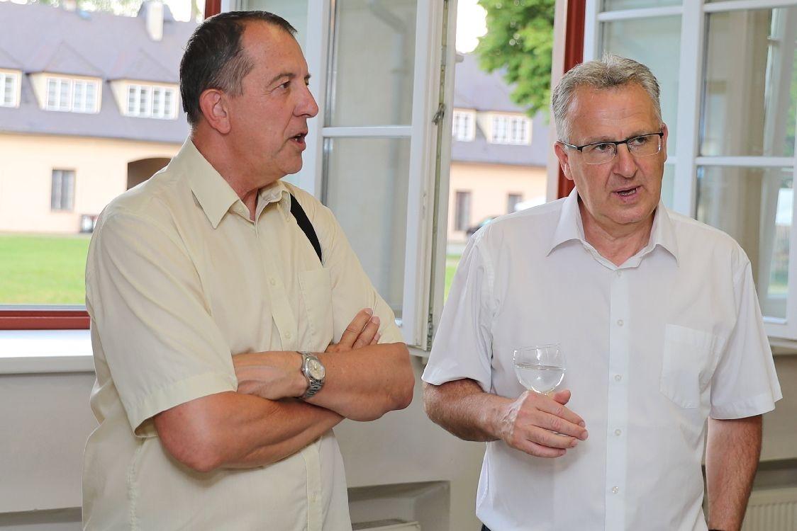 Šumperská Galerie Jiřího Jílka děkovala svým zachráncům foto: sumpersko.net - M. Jeřábek