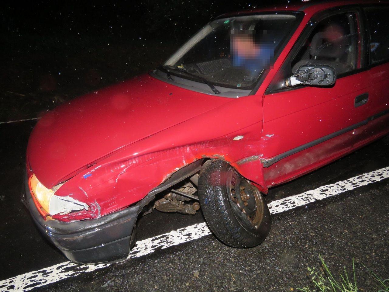 dopravní nehoda u Loštic zdroj foto: PČR