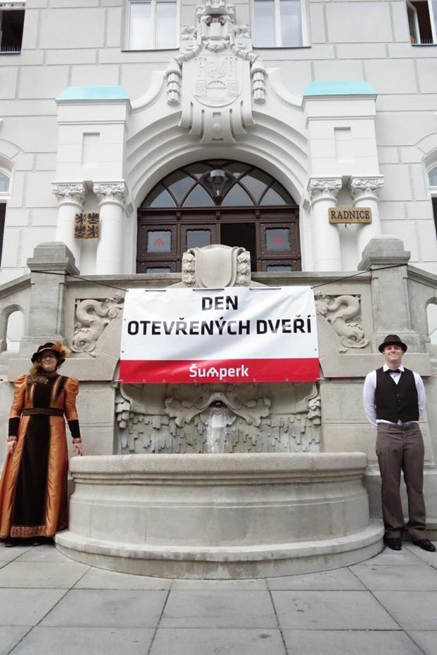 Šumperk - Den otevřených dveří radnice zdroj foto: mus