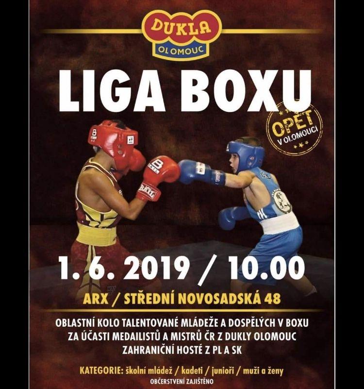 Liga boxu v Olomouci zdroj: D.V.