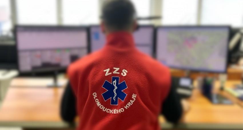 operační středisko Zdravotnické záchranné služby Olomouckého kraje zdroj foto: ZZSOLK