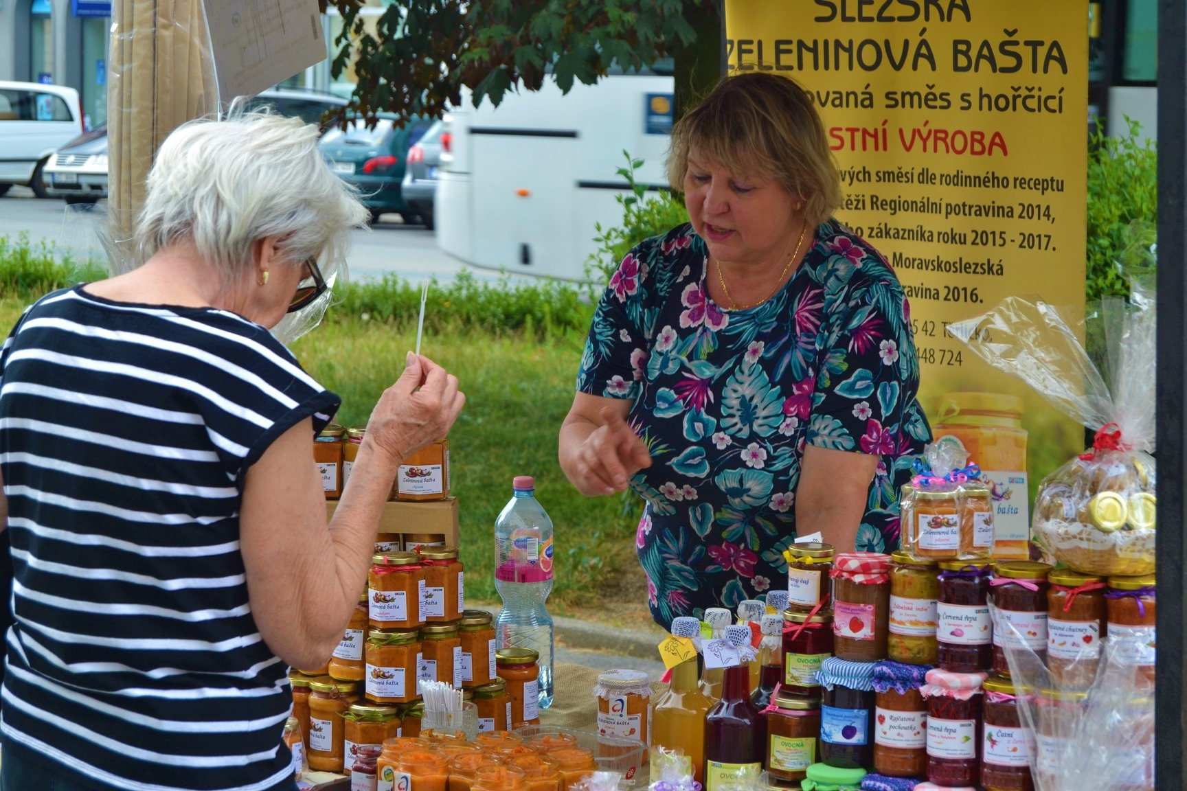 Farmářské trhy Zábřeh zdroj foto: muz