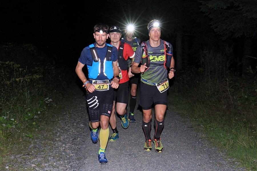 Nejrychlejší běžci Longu - Tomáš Klimša, Dominik Chlupáč, Jan Žaloudek, Radek Steklý (zleva) zdroj foto: Patrik Pátek/PatRESS.cz