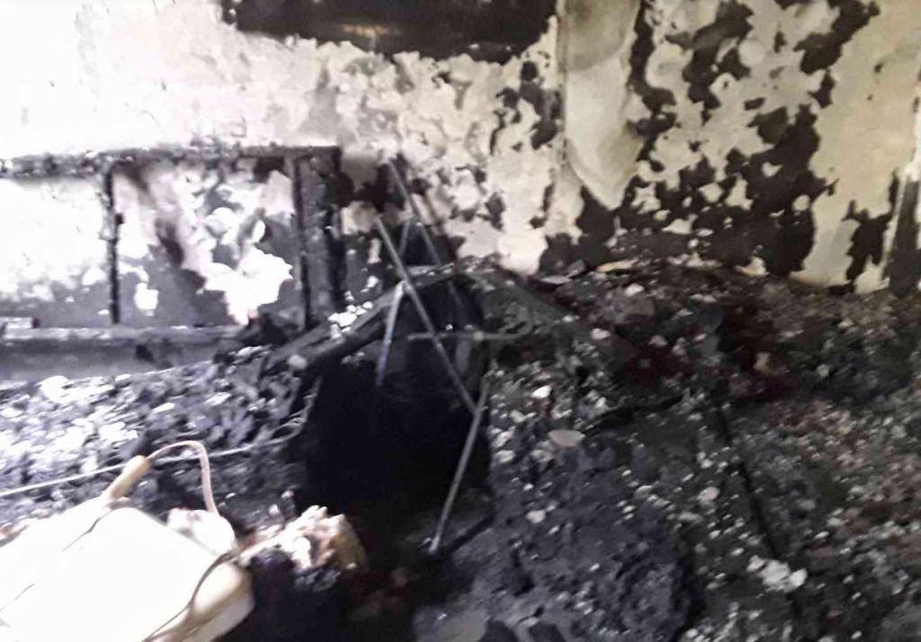 požár bytu v Přerově zdroj foto: HZS OLK