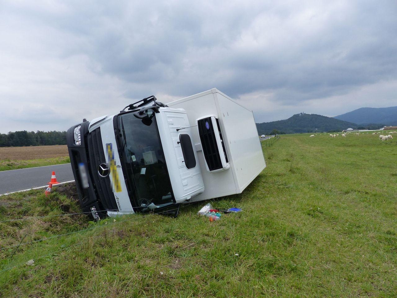 havárie Skorošice zdroj foto: PČR