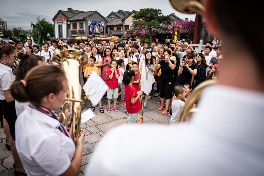 Zábřežský dechový orchestr reprezentoval na festivalech Číně zdroj foto: ZDO