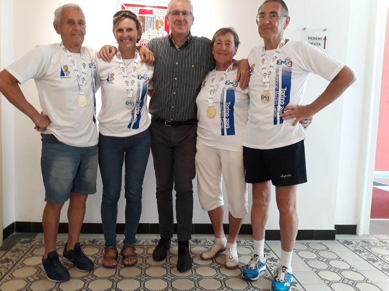 Šumperští sportovci přivezli z Turína patnáct medailí zdroj foto: mus