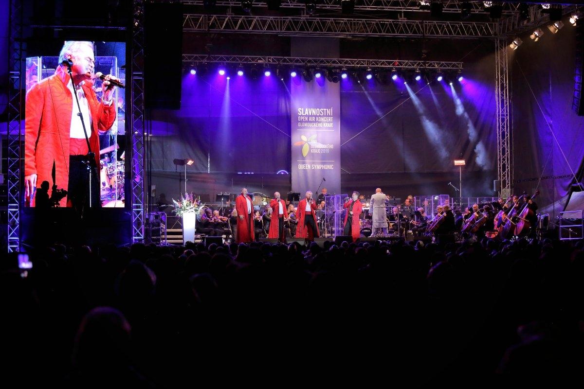 Dny Olomouckého kraje završil slavnostní Open air koncert moravské filharmonie zdroj foto: OLK