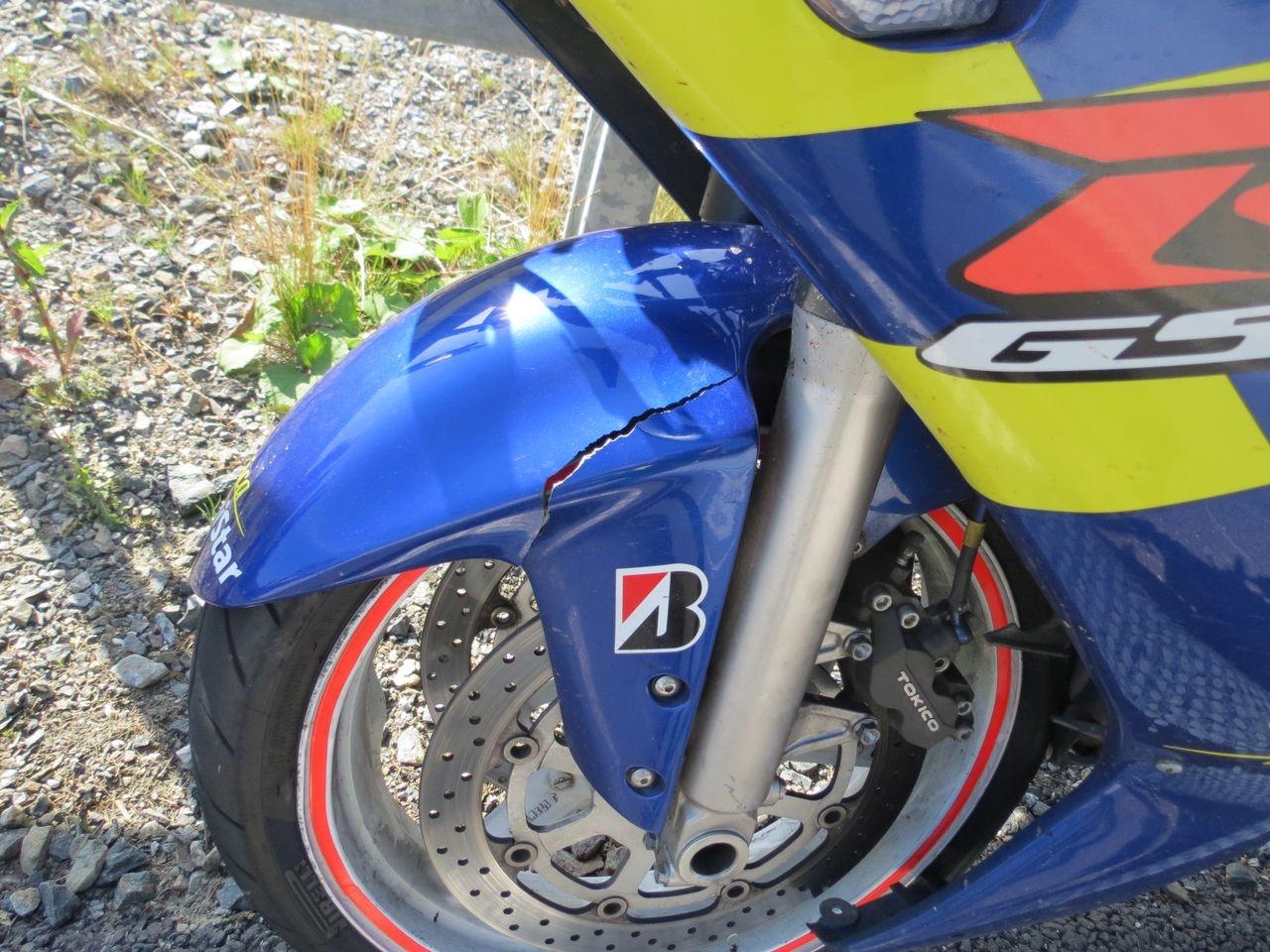 Červenohorské sedlo - havárie motorkáře zdroj foto: PČR