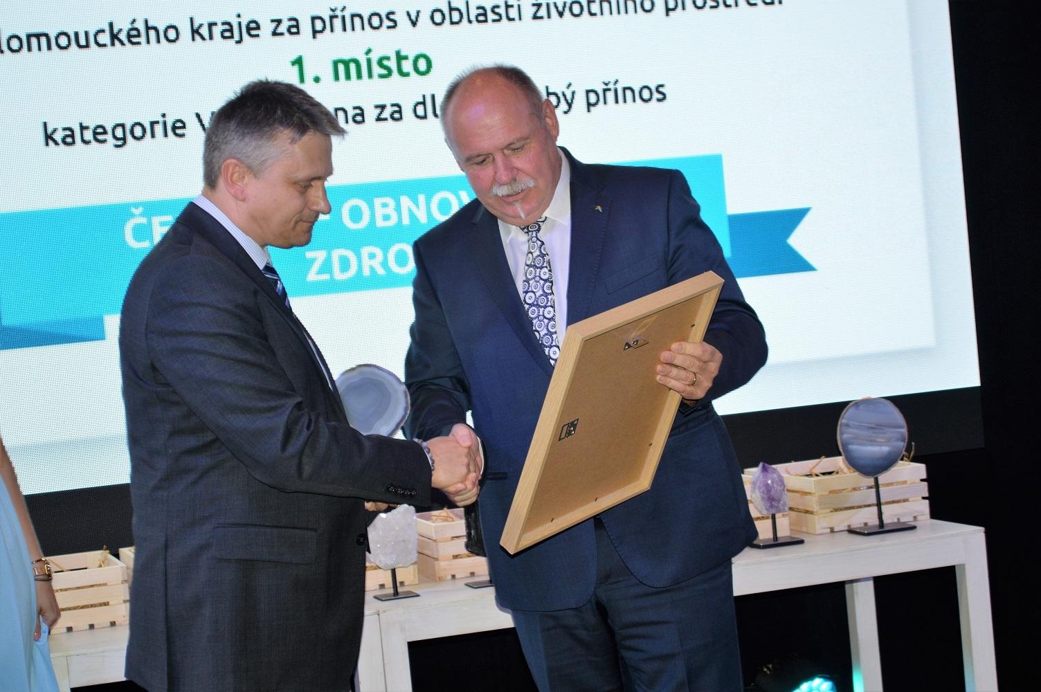 Dlouhé stráně získaly cenu Olomouckého kraje zdroj foto: V. Sobol