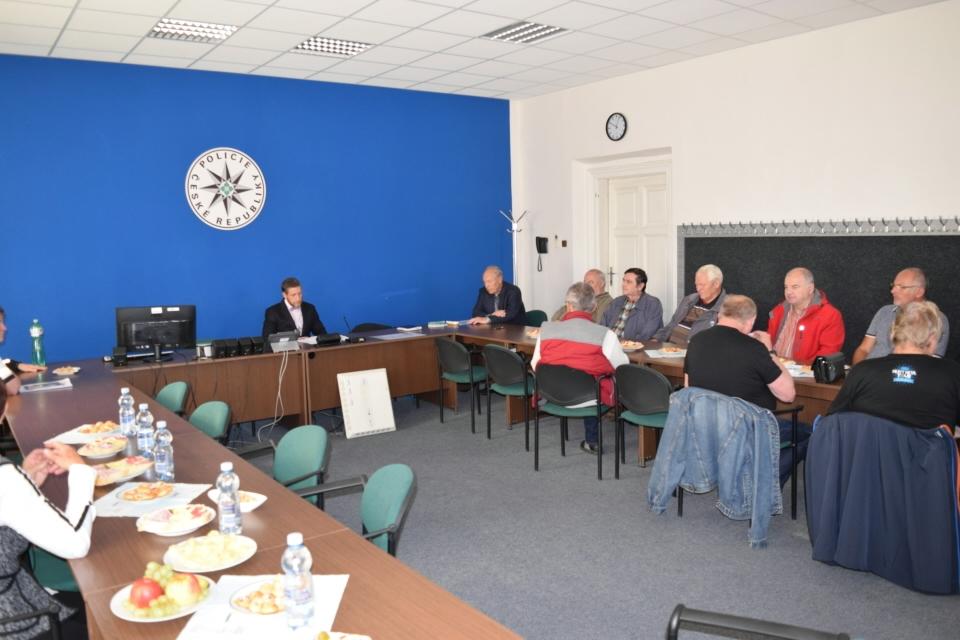 Olomouc den seniorů zdroj foto: PČR