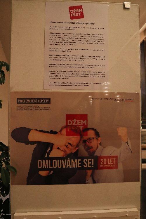 výstava plakátů Džemfest foto: sumpersko.net