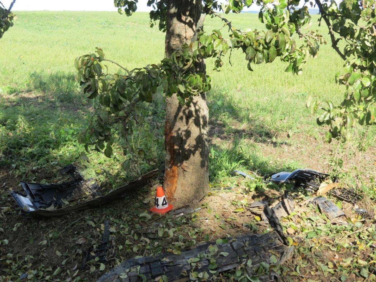 havárie mezi Mohelnicí a Křemačovem zdroj foto: PČR