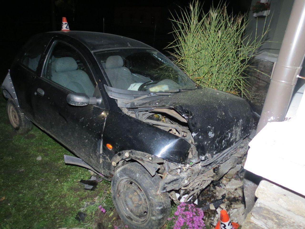 havárie Staré Město zdroj foto: PČR