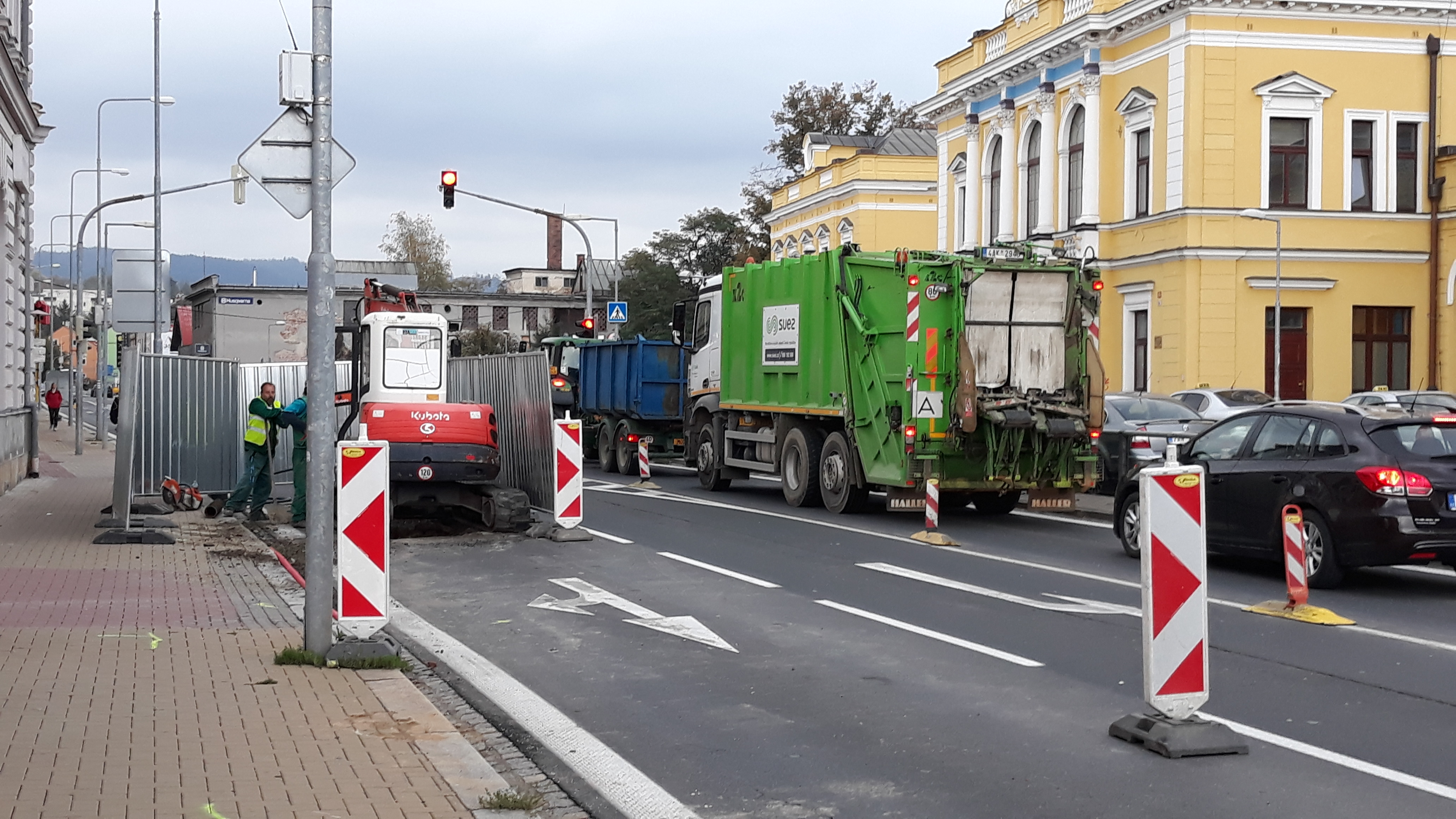Šumperk - Jesenická ulice zdroj foto: mus