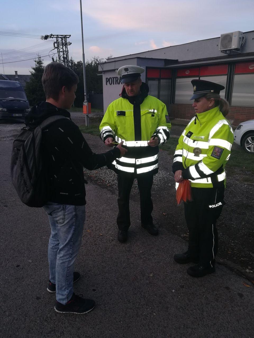 Šumpersko - preventivní akce zdroj foto: PČR
