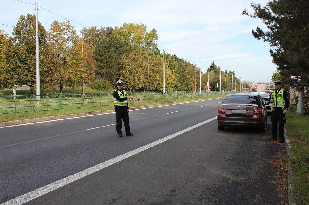 Dopravně bezpečnostní akce SEVER - JIH zdroj foto: PČR