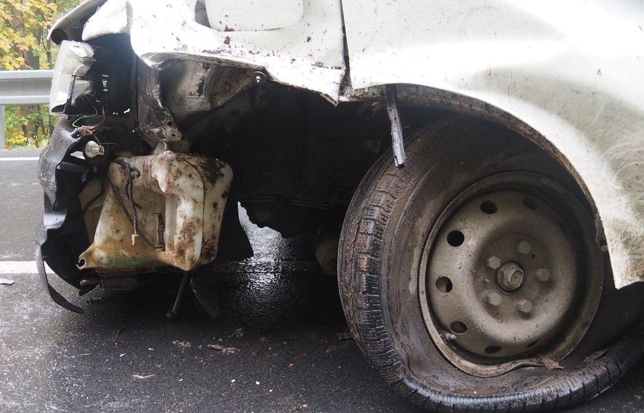DN dvou nákladních vozidel zdroj foto: PČR
