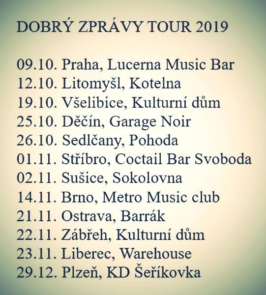 turné - zastávky zdroj: Larisa Kačírková