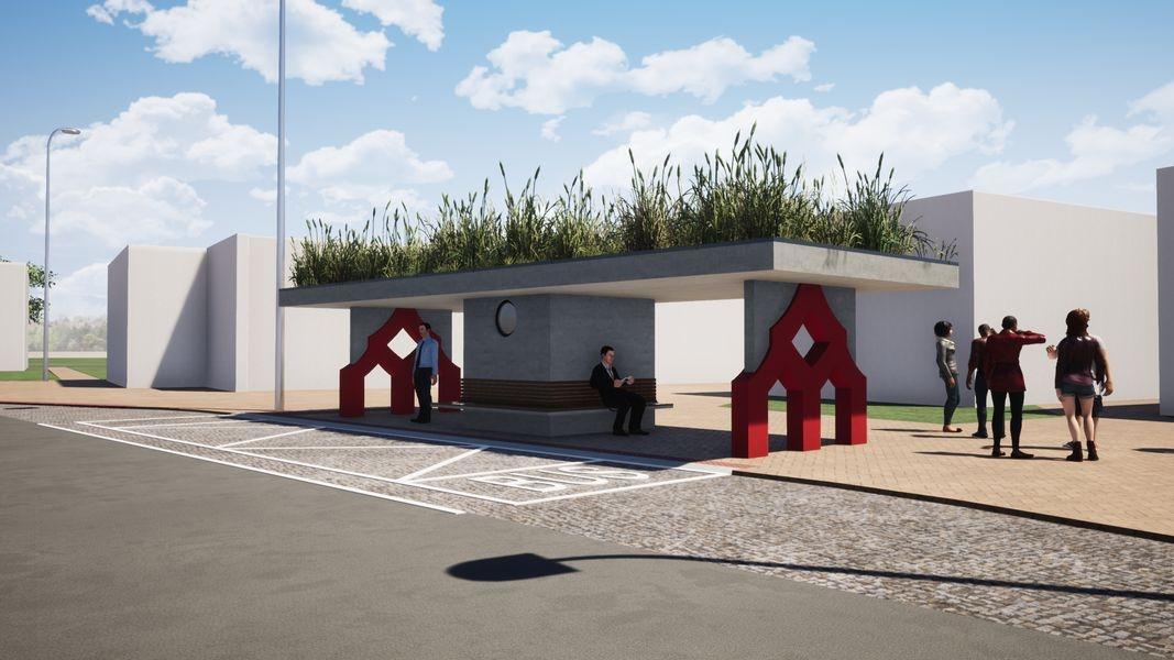 Terminál Šumperk - městská zastávka zdroj vizualizace: mus