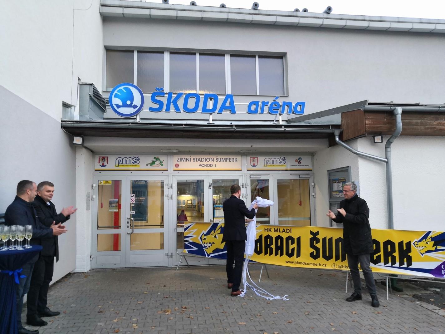 Škoda Aréna v Šumperku zdroj foto: M. Tobrman