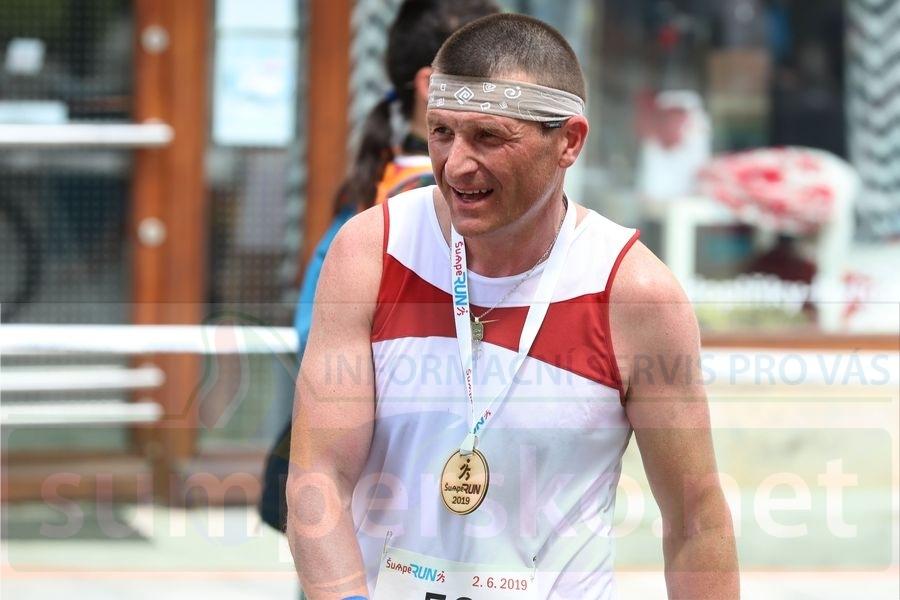 Libor Giesel absolvoval historicky první ŠUMPERUN foto: sumpersko.net - M- Jeřábek