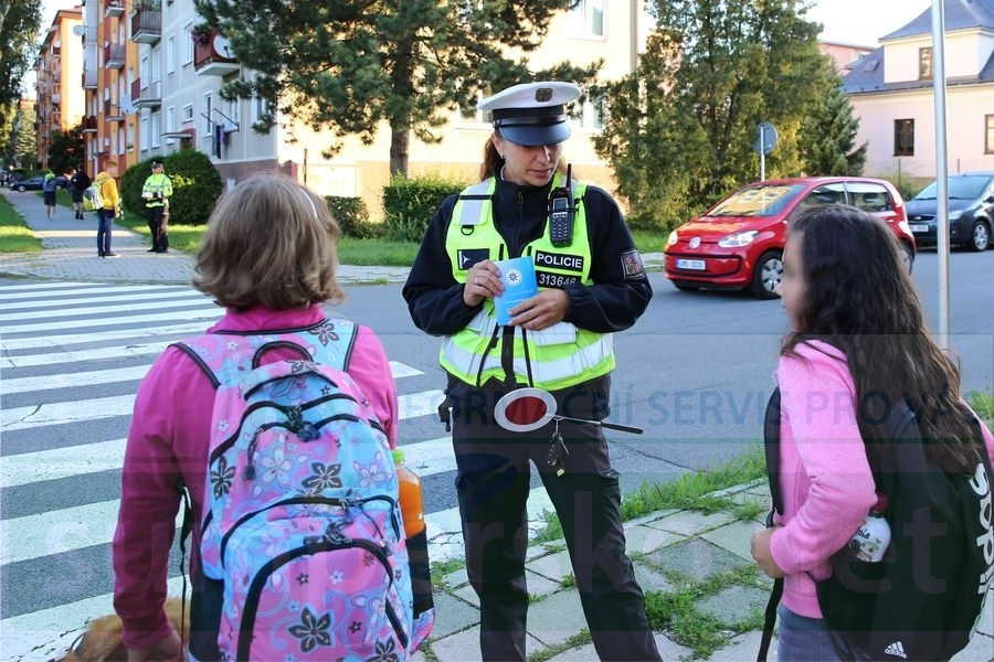 dopravně bezpečnostní akce foto: sumpersko.net - M. Jeřábek