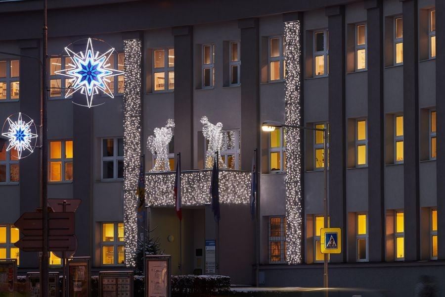 vánoční výzdoba města zdroj foto: muz