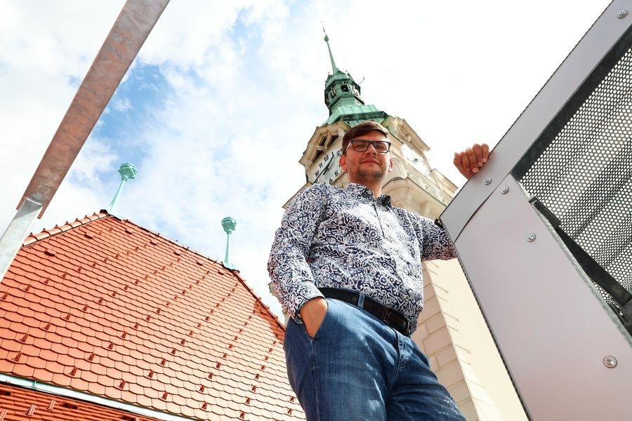 Ing. Jakub Jirgl 2. místostarosta města Šumperka foto: sumpersko.net - M. Jeřábek